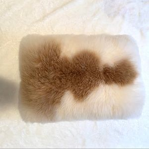 Alpaca Fur Pillow NWOT